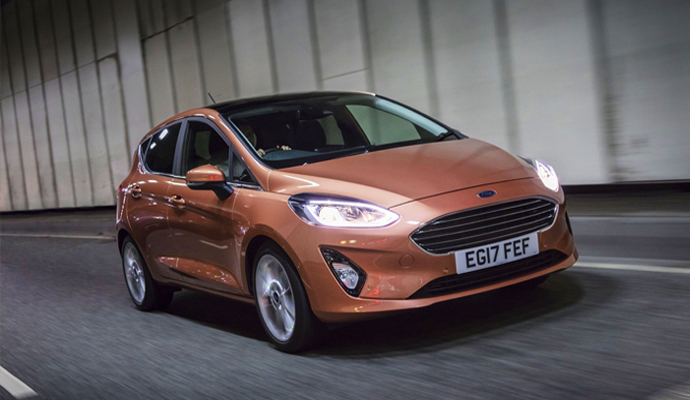 Ford Fiesta - 95,892 Registrations