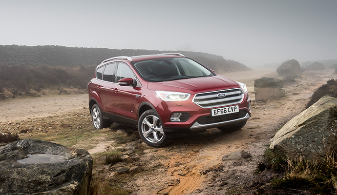 Ford Kuga - 40,398 Registrations