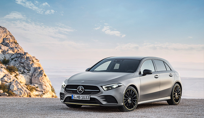 Mercedes A Class – 43,527 Registrations