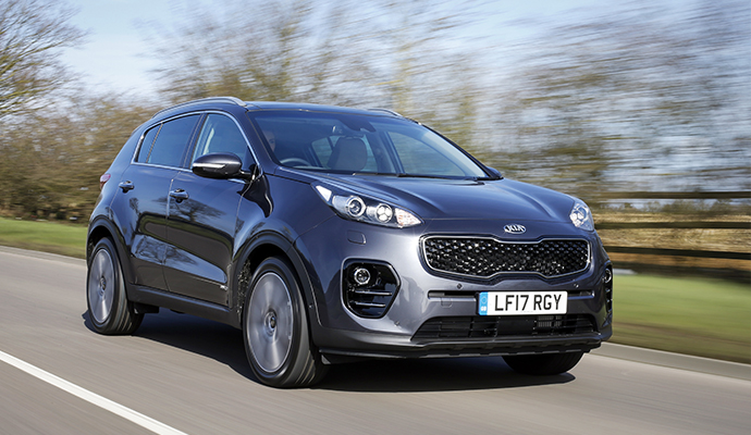 Kia Sportage – 35,567 Registrations