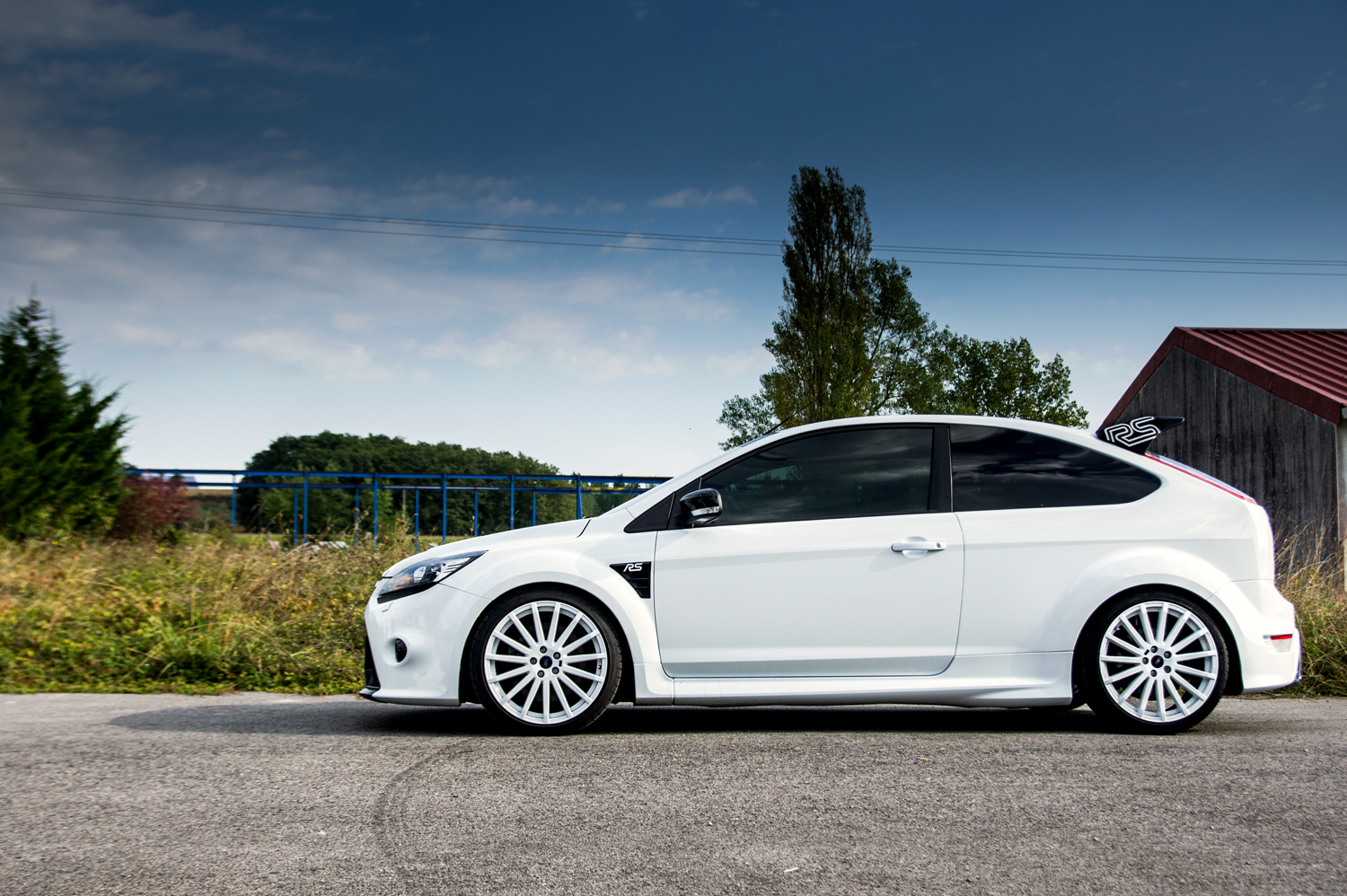 Ford Focus Ice White
