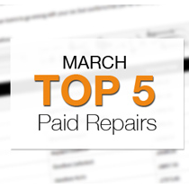 Top 5 Warrantywise Pay Outs in March 2014