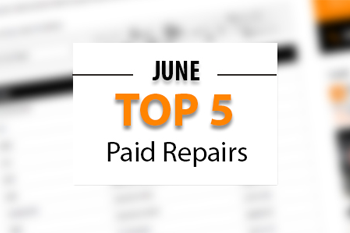 Top 5 Warrantywise Car Repair Bills Paid in June 2017