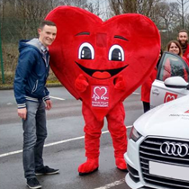 Motoring Enthusiast Takes A Road Trip For Charity